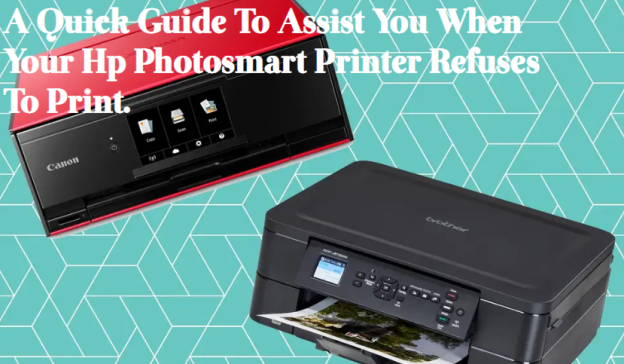 Why is my hp Photosmart printer not printing