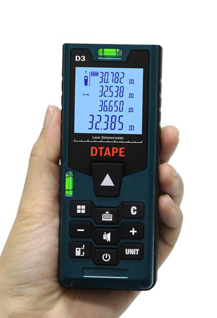 Laser Distance Meter 40M USB Rechargeable